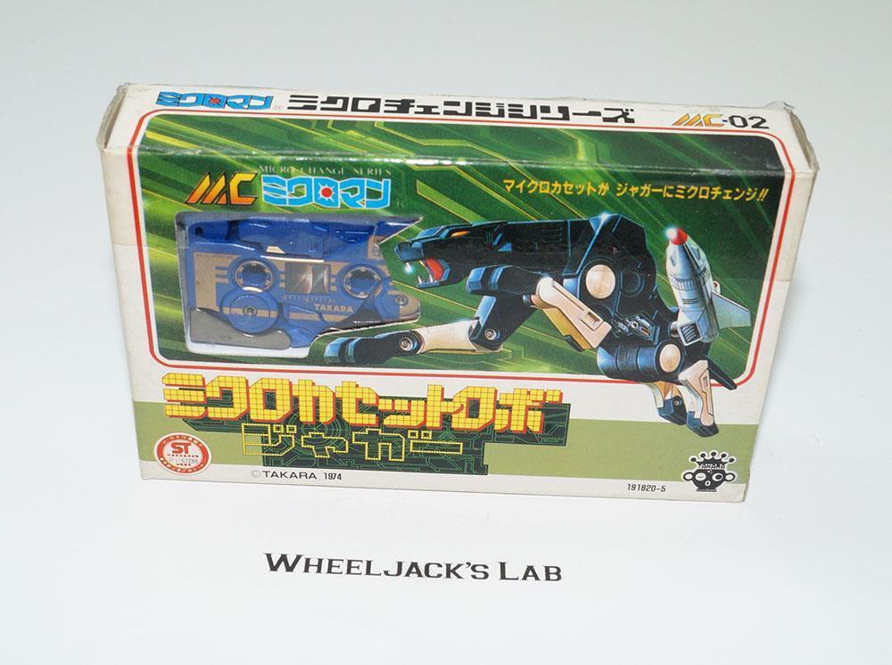 Ravage Jaguar MC-02 blu Micro Change Microuomo Pre G1 Transformers  Takara  grandi offerte