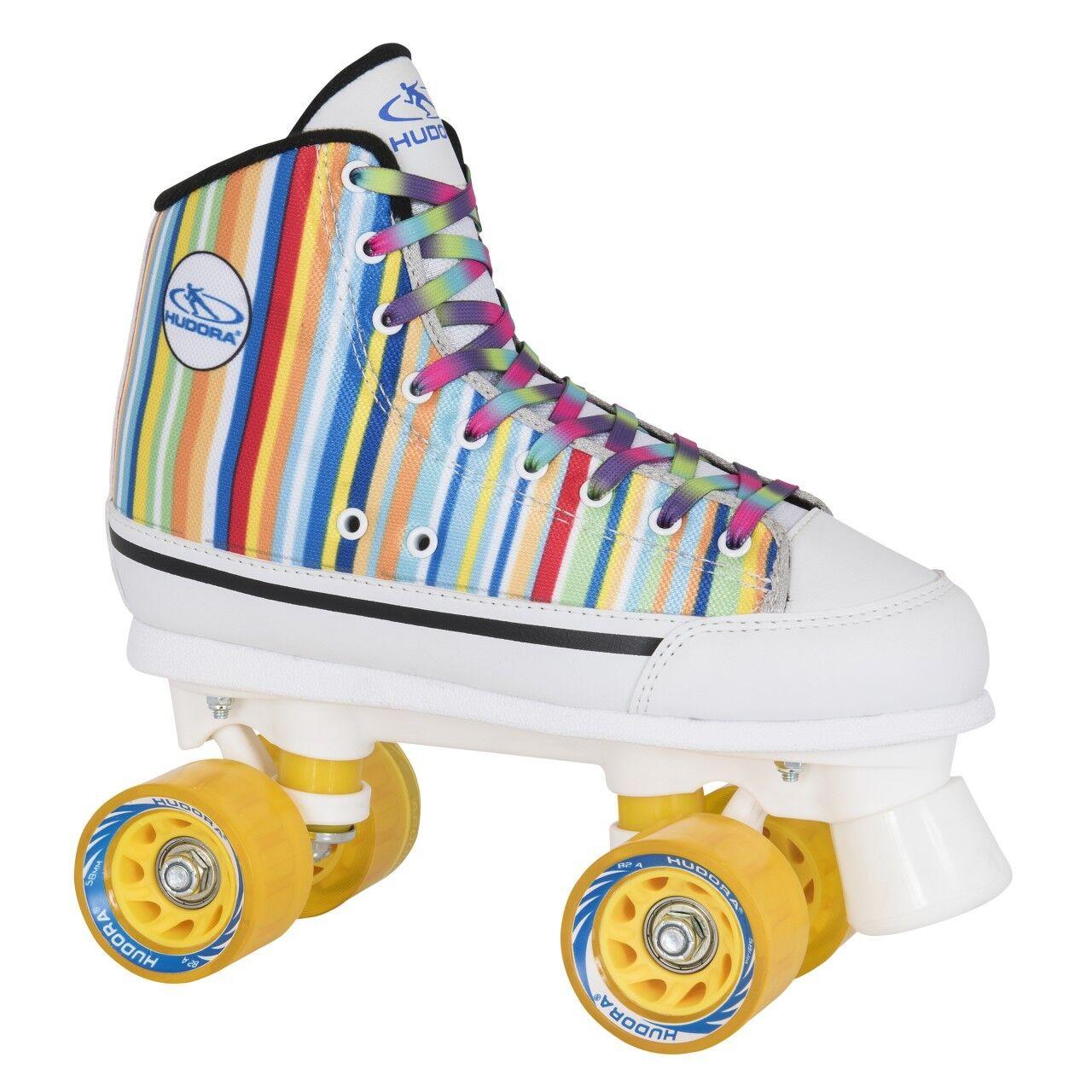 HUDORA Rollschuhe Rollschuhe HUDORA Roller Skates Candy-Stripes Gr. 36 ed0b88