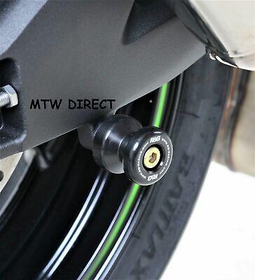 2018-636 R/&G RACING M8 Green PADDOCK STAND BOBBINS  FOR Kawasaki ZX6-R