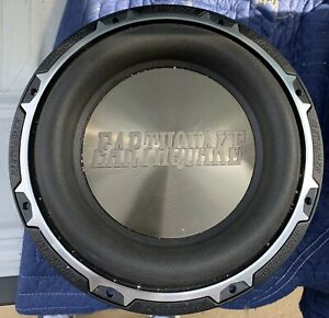 New-PAIR-Old-School-Earthquake-Subzero-DVC-10-Comp-Subwoofers-RARE-USA-SPL