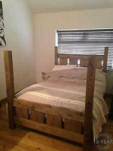 Bespoke Handmade Rustic Chunky Plank Solid Wood Four