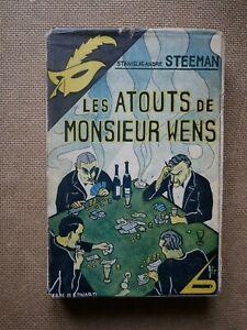 MASQUE-JAQUETTE-121-Stanislas-Steeman-Les-Atouts-de-Monsieur-Wens-EO-1932
