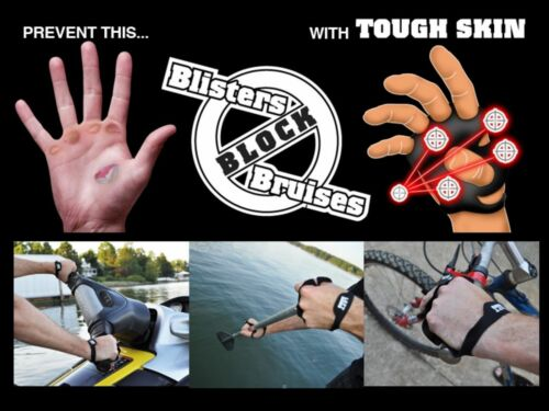 Large//XLarge Striker Tough Skin 2 Pack Work DIY SPORTS BLISTER PROTECTION