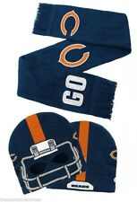 d30b60ac Chicago Bears Hat Cap Scarf & Mittens Set Youth Kids Football NFL Ship