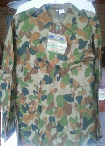 Auscam Military Army Hunting Camping-Long Sleeve Shirt Tactical Heavy Cotton #2