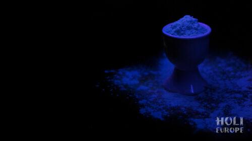 4 x NEON Holi Pulver Festival Farbbeutel Fotoshooting Faben LEUCHTEN UV