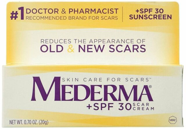 Mederma Scar Cream Plus Spf 30 Reduces The Appearance Of Old New Scars For Sale Online