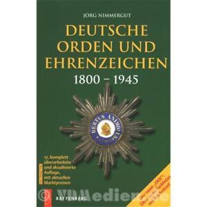 Deutsche-Orden-und-Ehrenzeichen-1800-1945-OEK-Joerg-Nimmergut-17-Auflage