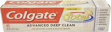 Colgate Total Advanced Fluoride Deep Clean Toothpaste, 5.8 oz (Pack of 3)