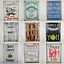 Quirky-Metal-Wall-Hanging-Plaques-Loads-of-Styles-30x40x1cm-Signs thumbnail 1