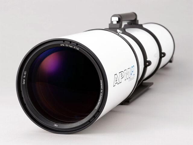 TeleVue 85 APO Doublet Refractor Telescope Green Binoculars ...
