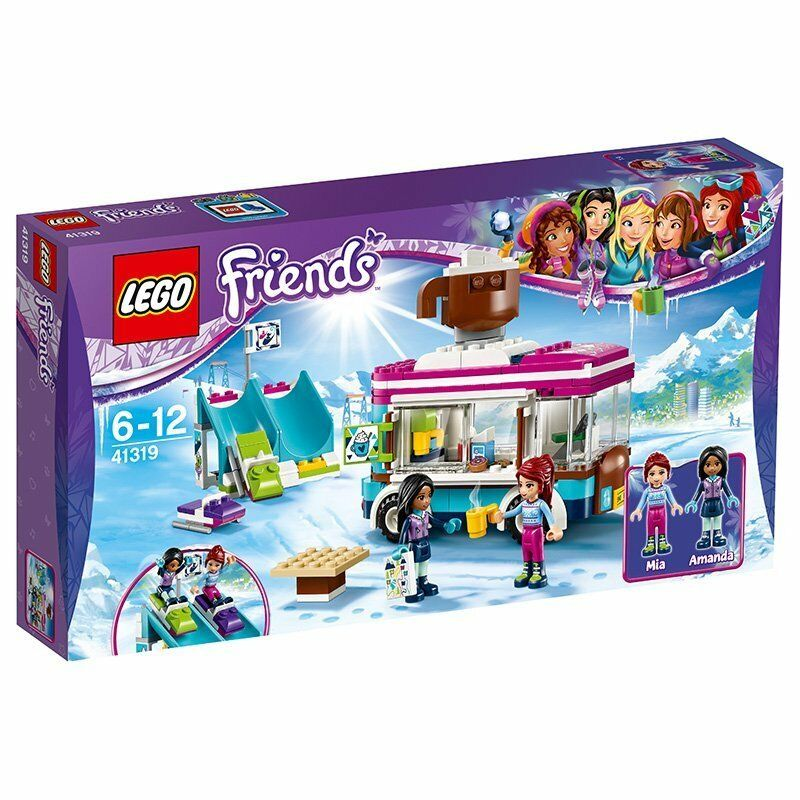 LEGO Friends Snow Resort Hot Chocolate Van 41319 NEW Sealed FREE Signed Delivery