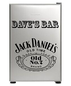 JACK-DANIELS-BAR-FRIDGE-VINYL-CUT-STICKER-DECAL-WITH-YOUR-NAME