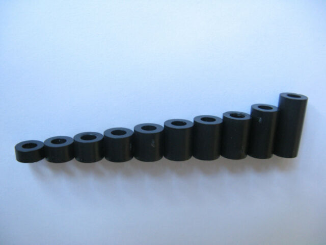 20 Stck. Abstandsrollen / Distanzrolle ID3,6mm AD 7mm    wählbar aus 14 Längen