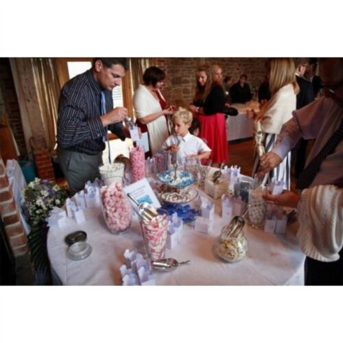 Candy Bar Buffet Sweet Jar Wedding Sweet Scoops Party Pack of 20