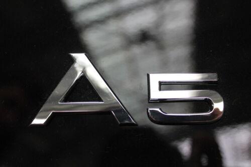 Original Audi A5 Schriftzug Audi A5  Emblem 8T0853741 2ZZ