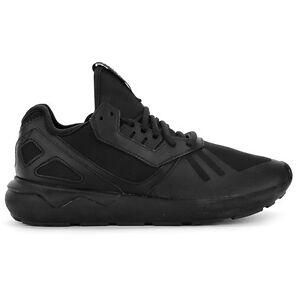 Adidas Women's Tubular Runner Triple Black Shoes B25089 NEW!