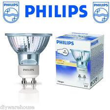 12 X PHILIPS 50 WATT GU10 DIMMABLE HALOGEN LAMP BULB SPOT LIGHT WARM WHITE