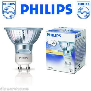 Détails Sur 12 X Philips Osram 50 W Gu10 Dimmable Halogène Ampoule De Lampe Spot Afficher Le Titre D Origine