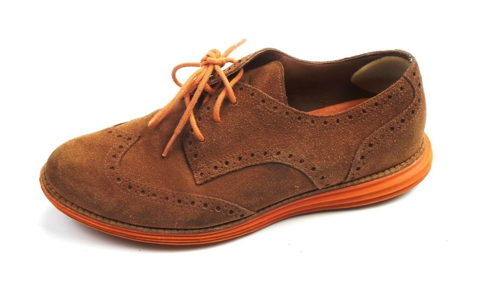 Cole  Haan donna LungGrand Oxfords GS scarpe Marronee Suede Dimensione 6.5  comodamente