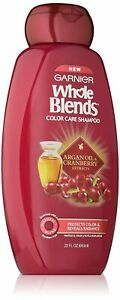 New-Garnier-Whole-Blends-Shampoo-with-Argan-Oil-amp-Cranberry-Extracts-Color-Care