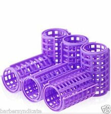 10 PCS PLASTIC HAIR CURLERS (CURLER), ROLLERS, STYLERS - ( LARGE ) 10PCS