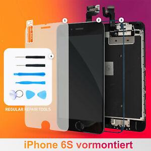 iPhone-6S-Display-vormontiert-Schwarz-3D-Touch-LCD-RETINA-Glas-Komplett