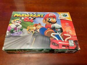 Mario Kart 64 (N64) Nintendo 64 *Complete in Box*