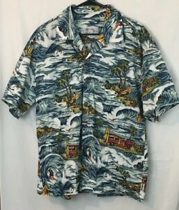 fece5b15 Image is loading Toes-on-the-Nose-Surfing-Hawaiian-Shirt-Mens-