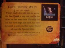 """Pirates of the Barbary Coast #206 David """"Bones"""" Wiley Pocketmodel MINT"""
