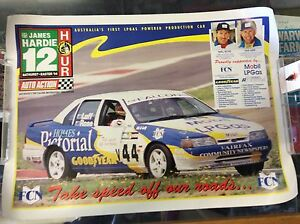JAMES-HARDIE-12-HOUR-BATHURST-EASTER-1994-POSTER-WITH-LUFF-AND-ROSE