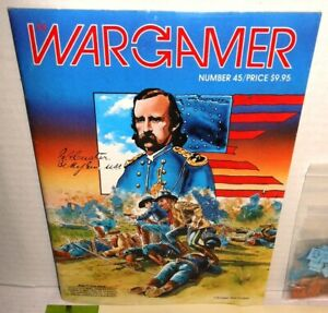 MAG-GAME-Wargamer-45-Custer-039-s-Luck-Sept-1985-Punched-Verified-Complete-op