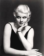 JEAN HARLOW OLD TIME FILM STARS  A4 REPRODUCTION PHOTO PRINT