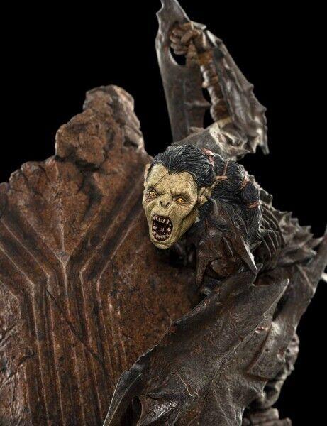 Le Seigneur des Anneaux statuette Moria Orc 17 cm Lord of the Rings statue 02306