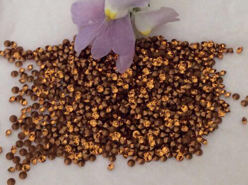 1012 6ss feuilles strass 1.9 à 2.1mm craft options de couleur Swarovski #1100