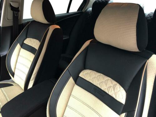 Sitzbezüge Housses de Protection pour DODGE NITRO NOIR-BEIGE v2525394 sièges avant