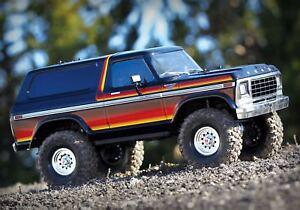 Traxxas-trx-4-1979er-FORD-BRONCO-Robot-tqi2-4ghz-NOIR-ROUGE-jaune-1-10-82046-4