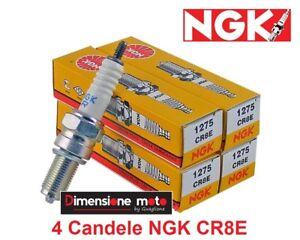 1275-4-Candele-d-039-accensione-NGK-CR8E-per-SUZUKI-GSX-650-F-dal-2008-gt-2013