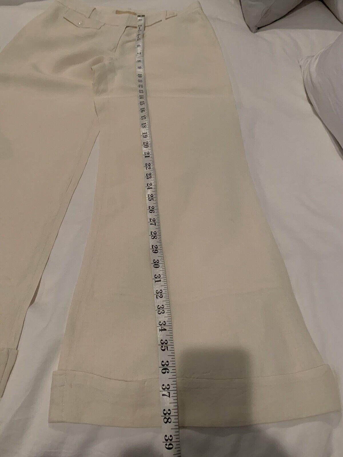 Cream Linen Michael Kors Suit - image 6