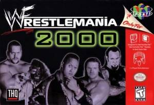 WWF-Wrestlemania-2000-N64-Great-Condition-Fast-Shipping
