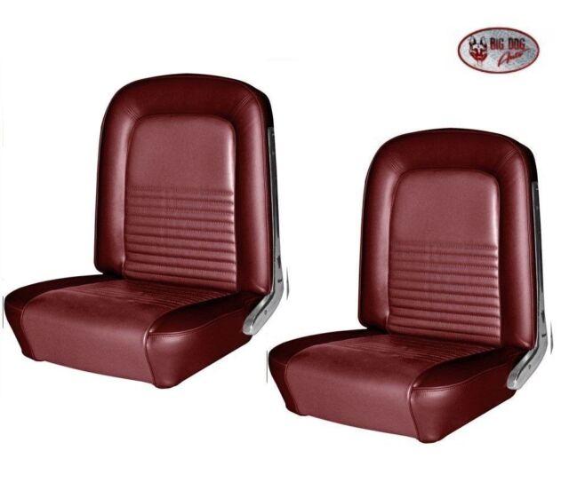 1967 Mustang Coupe Rear Seat Foam