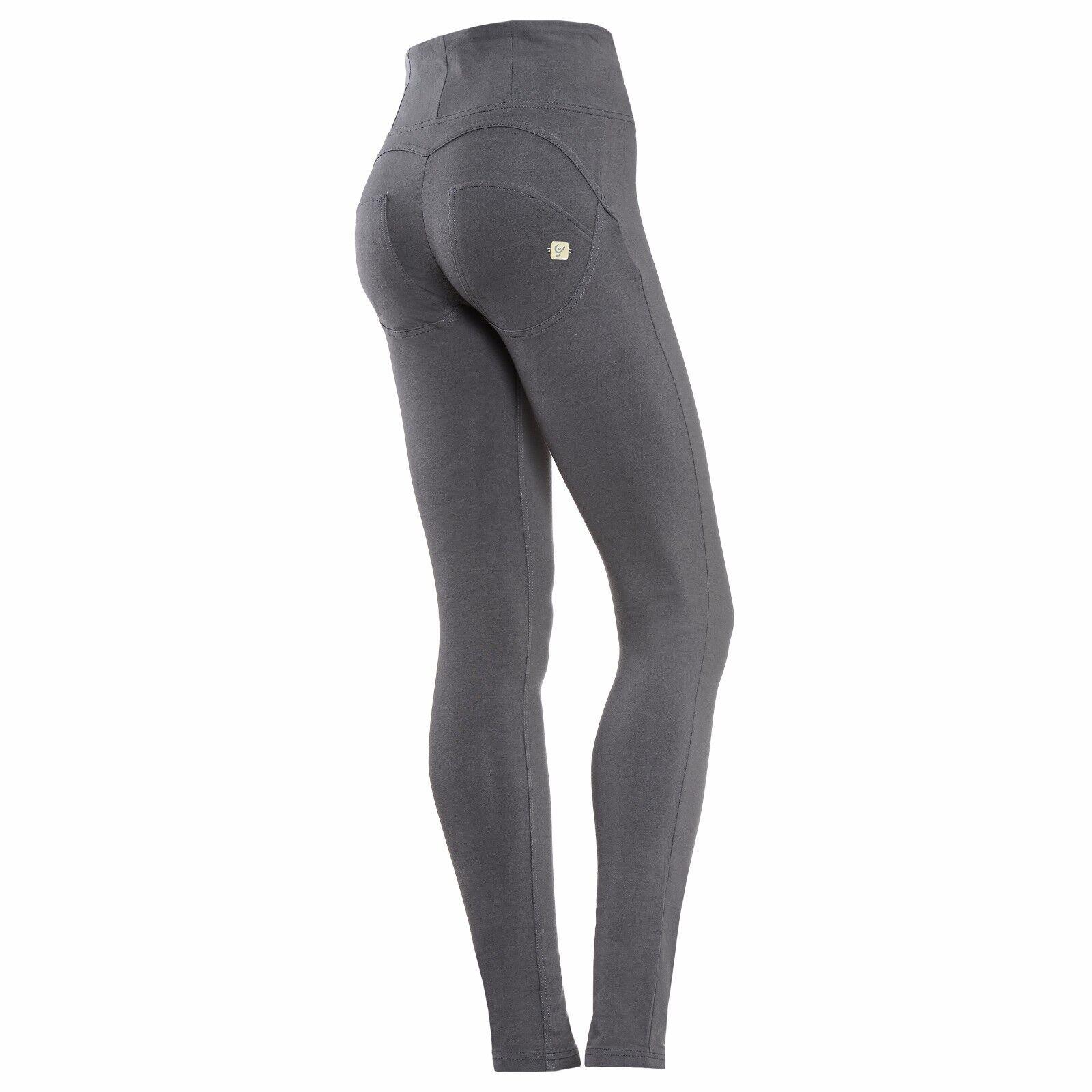 Freddy WRUP Body Shaping High Waist Women Fashion Pant Skinny Fit-Dark Grey NEW