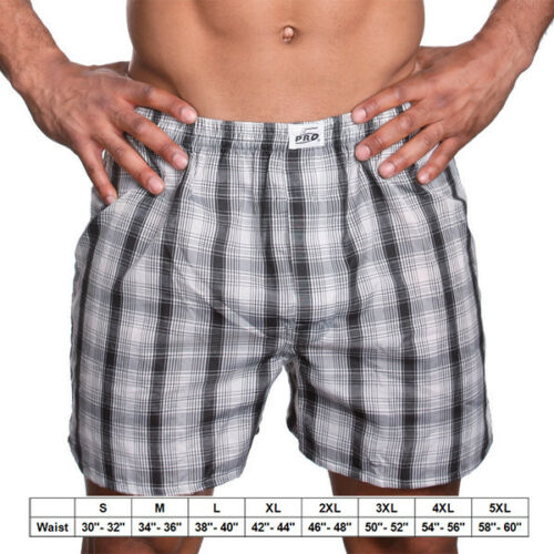 Pro5  Men/'s Underwear Boxer Trunk Lot of 3,6,9,12 Assorted Pattern and color/'s