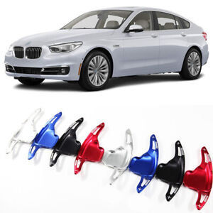 Steering Wheel Shift Paddle Extension Paddle Shifters Cover For BMW 5 Series