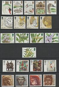 GB 1993 complete commemoratives unmounted mint 9 sets of stamps