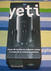 Blue Microphones Microphone Usb Yeti Blackout Edition : brand new blue microphones yeti usb microphone blackout edition 836213002070 ebay ~ Russianpoet.info Haus und Dekorationen