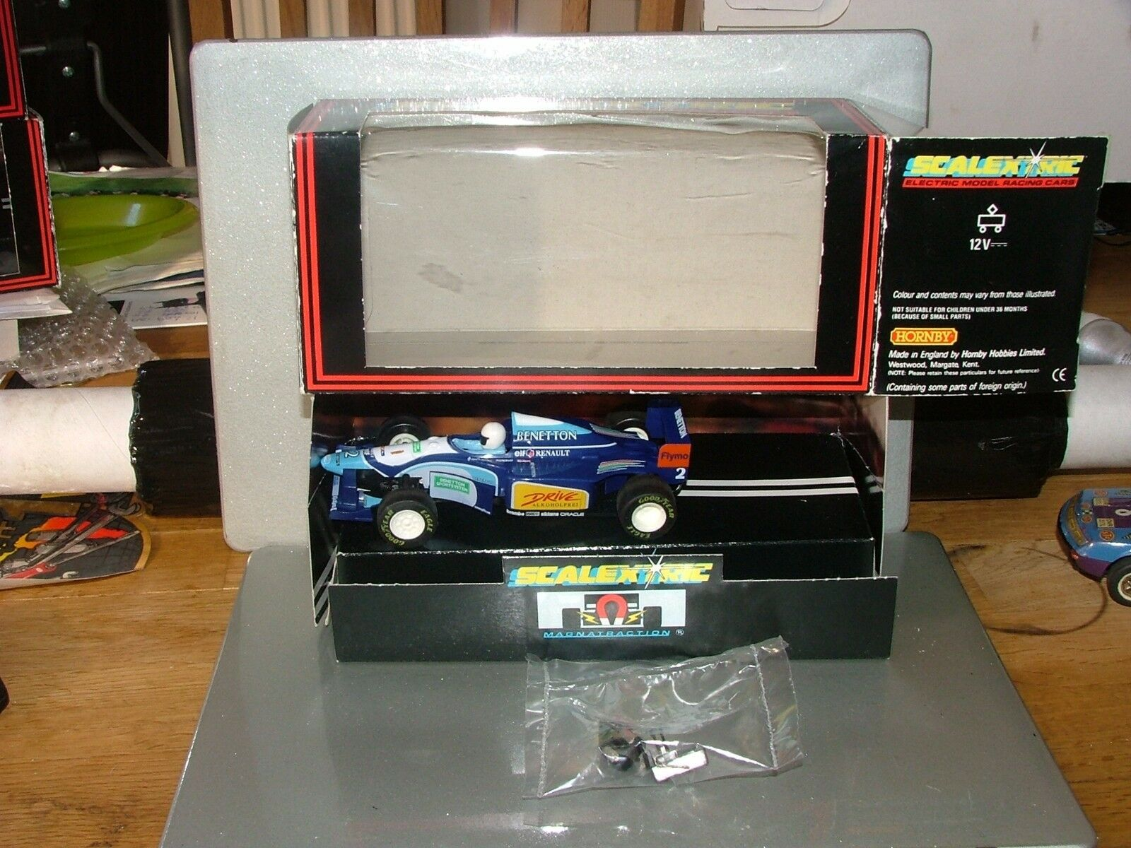 SCALEXTRIC BENETTON RENAULT B193  95 no2 C583  BOXED mint