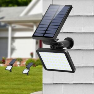 Details About 48 Led Garden Landscape Lamp Solar Spotlight Outdoor Lighting Wall Lights