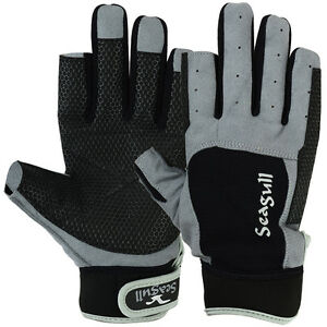 Sticky-Palm-Sailing-Gloves-Dinghy-Yachting-Roping-Boating-Amara-Long-Finger-L