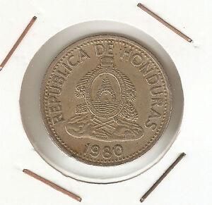 Honduras: 10 Centavos de Lempira 1980 VF - España - Honduras: 10 Centavos de Lempira 1980 VF - España